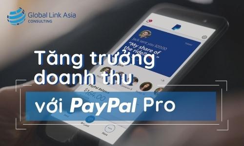 Tăng trưởng doanh thu với PayPal Pro