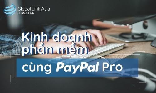 Kinh doanh phần mềm cùng PayPal Pro