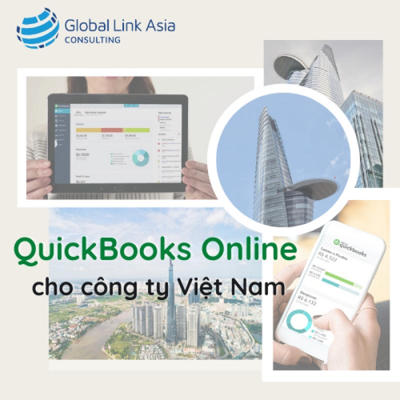 Hướng dẫn sử dụng phần mềm kế toán QuickBooks Online cho công ty Việt Nam