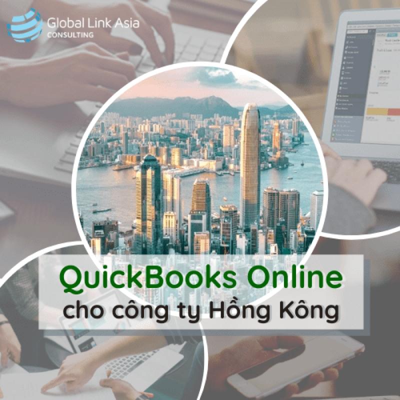 Hướng dẫn sử dụng phần mềm kế toán QuickBooks Online cho công ty Hồng Kông (Trung Quốc)