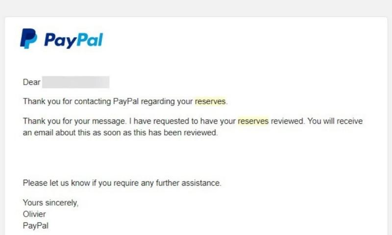PayPal Reserve hay Ký quỹ là gì? PayPal đặt mức Hold như thế nào? Từ A-Z về PayPal Reserve