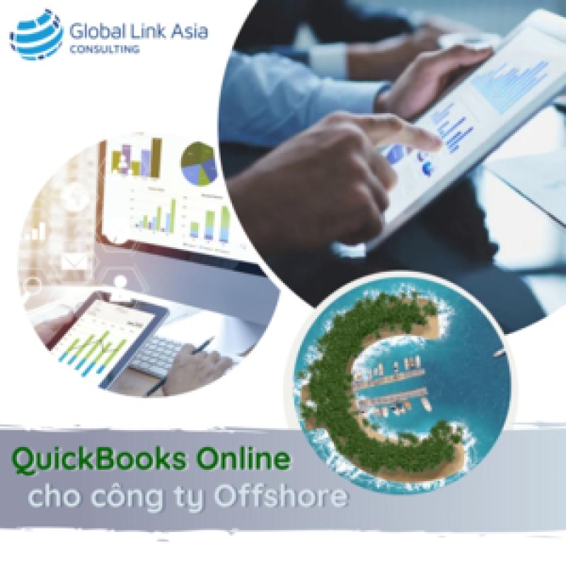 Hướng dẫn sử dụng phần mềm kế toán QuickBooks Online cho công ty Offshore